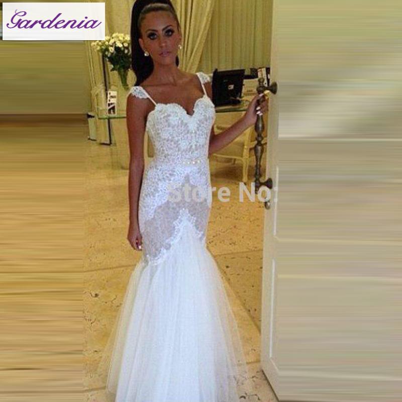 Glamorous lace mermaid wedding dresses bridal fresh for True mermaid wedding dresses
