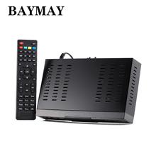 Full HD 1080 P DVB-T2 + S2 COMBO Digital de Vídeo Receptor de TV DVB Obediente y H.264/MPEG-2/MPEG-4/AVS 1 GHZ + 8 M