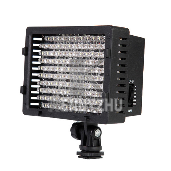 Professional CN-126 7.6W 126 Leds LED Video Light For DSLR Camera Video Camcorder Canon Nikon Pentax Free Shipping