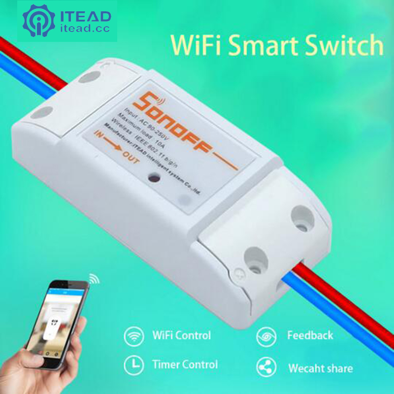 Sonoff Remote Wireless Smart Switch Universal Module Timer Switch Sock