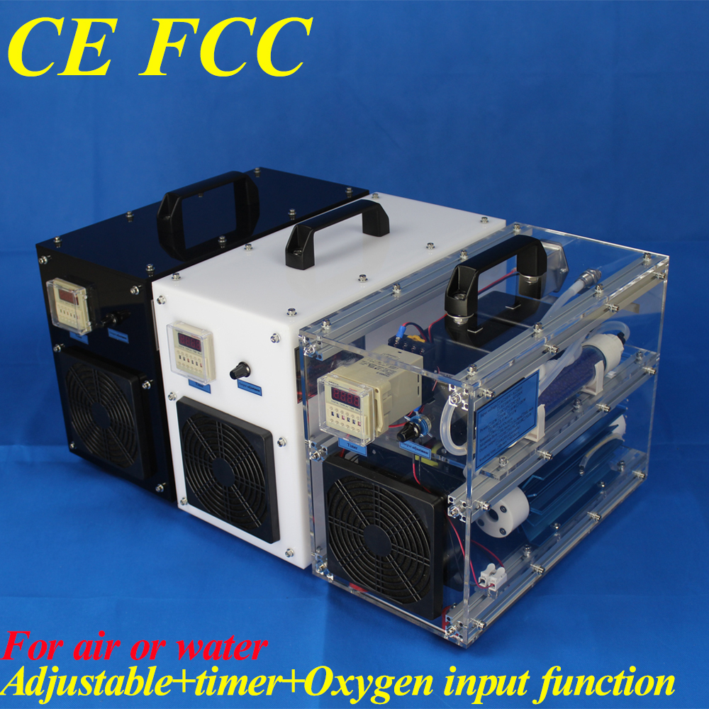 CE EMC LVD FCC air cooling home use ozonizer