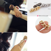 The Best New Popular Wholesales 18K Gold Plated Imported Brand Customized fashion Crystal Chain Rings HG1009