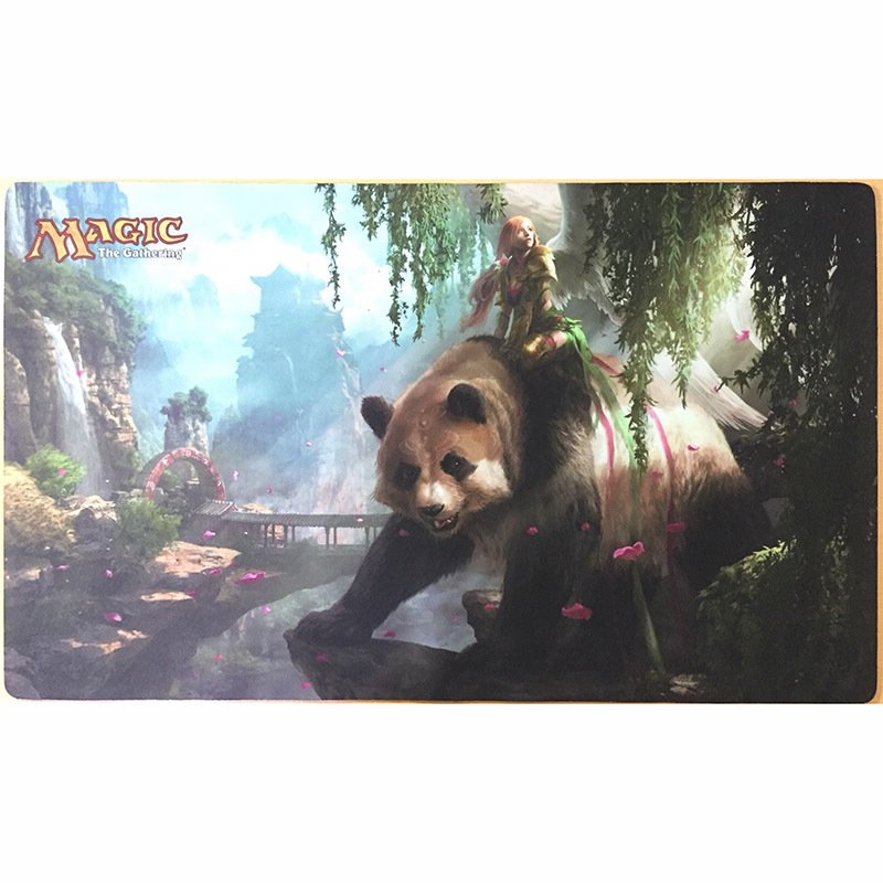 Customed fat panda magic the gathering board game playmat mtg cards table sexy playmat in board - Magic the gathering game table ...