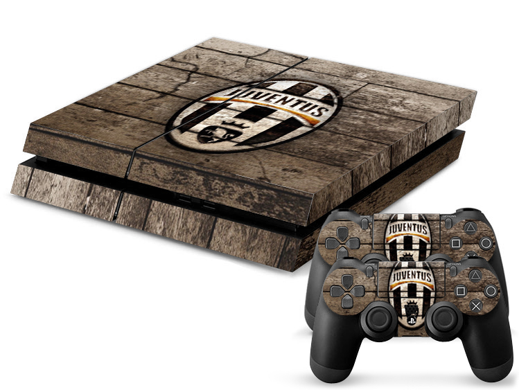 JUVENTUS Famous Football Team Decal Skin For Playstation 4 PS4 Stickers PS4 Console Skin+2 Pcs Stickers For PS4 Controller(China (Mainland))