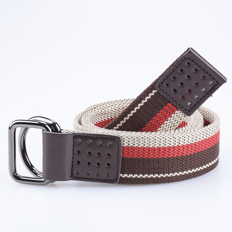 6 Color Canvas Men Boys Belt Waisband(China (Mainland))