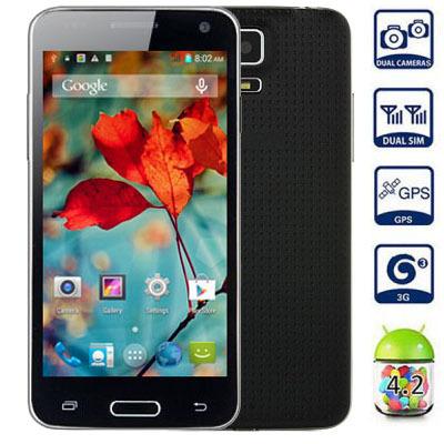 "Star W800 MTK6582 Smartphone 1GB RAM 4GB ROM Quad Core Android 4.2 4.5"" MIXC Mini MTK6572 Dual Core Mobile Phone(China (Mainland))"