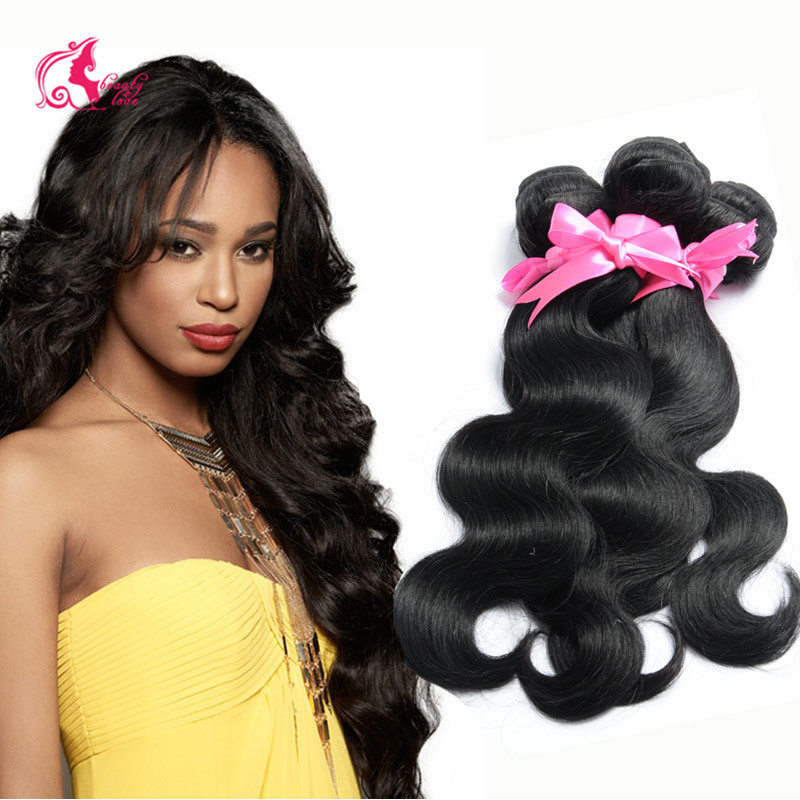 Beauty Love Hair Brazilian Virgin Hair Body Wave 4 Bundles Brazillian Human Hair Weave Cheap Brazilian Body Wave Virgin Hair