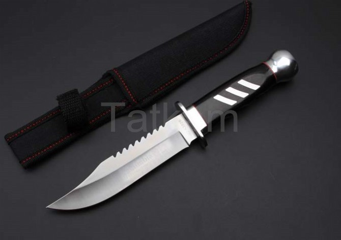 Buy New Fixed Blade Knife 5Cr13Mov Mirror Stainless Steel 57HRC Hardness Hunting Knife Outdoor Survival Knife cheap