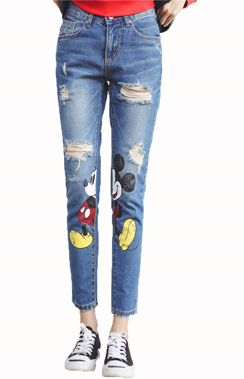 High Quality Plus Size Ripped Jeans-Buy Cheap Plus Size Ripped ...