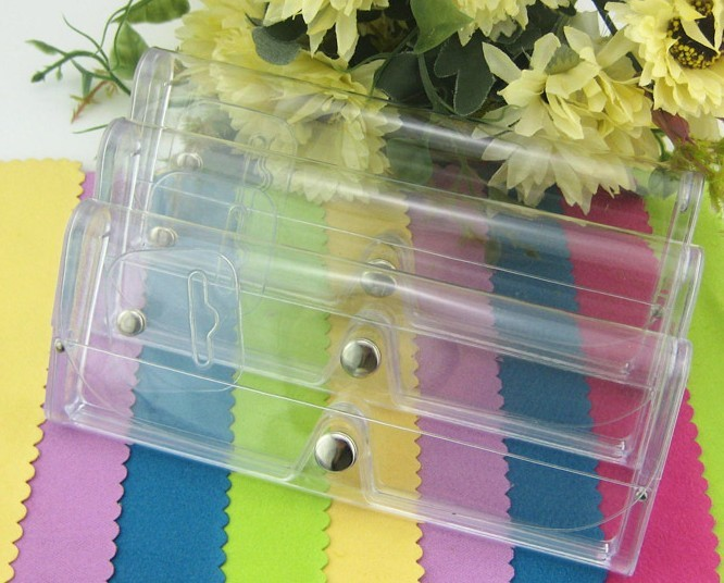 PVC leather clear case of the sunglasses clip , glasses box,bags 20pcs/lot wholesale<br><br>Aliexpress