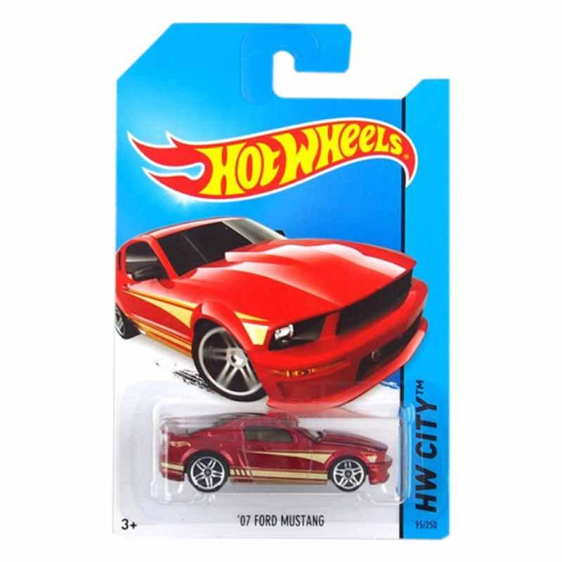 Hot Wheels BFD85 Mustang Car Model Toy No.95 Free shipping(China (Mainland))