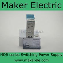 Компактный объем 40 w тонкий и mini размер постоянный ток питания 24 v 40 w din MDR-40-24 mdr-brand серии