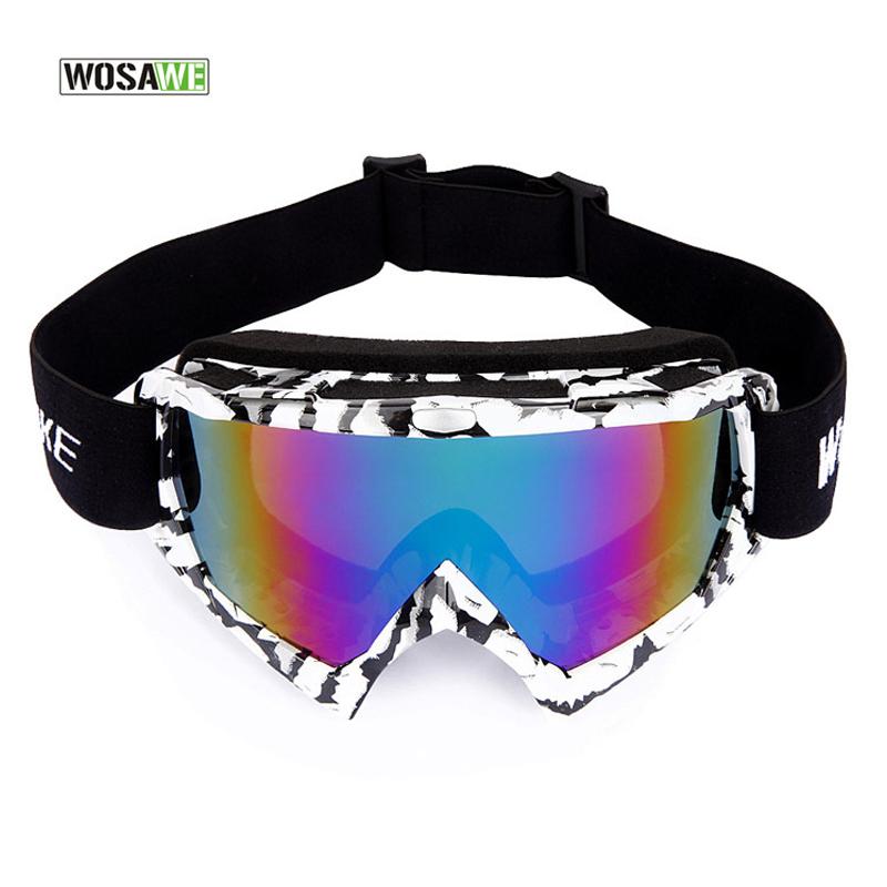 WolfBike Professional Ski Goggles UV400 Anti-Fog Big Mask Ski Glasses Skiing Snowboard Eyewear Windproof Snow Goggles Glasses(China (Mainland))
