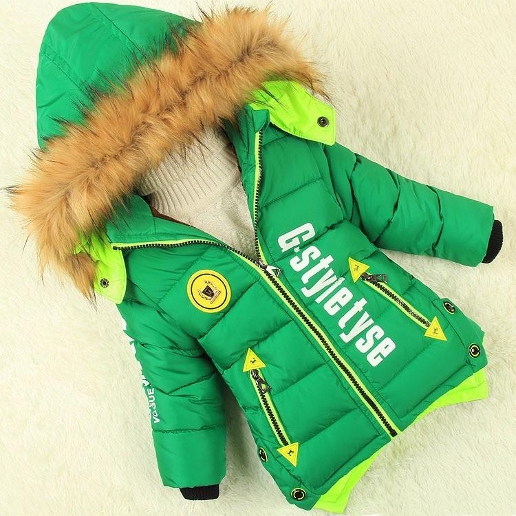 Скидки на Зимняя куртка мальчики ребенок Мужского пола ватные куртки детская одежда толстые куртки пальто длинные дети куртка детская хлопок-мягкие одежды