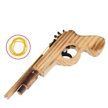Новое прибытие детские игрушки деревянные игрушки пистолет классические игры резинкой игрушечный пистолет пушки интересные детские пушки игрушки(China (Mainland))