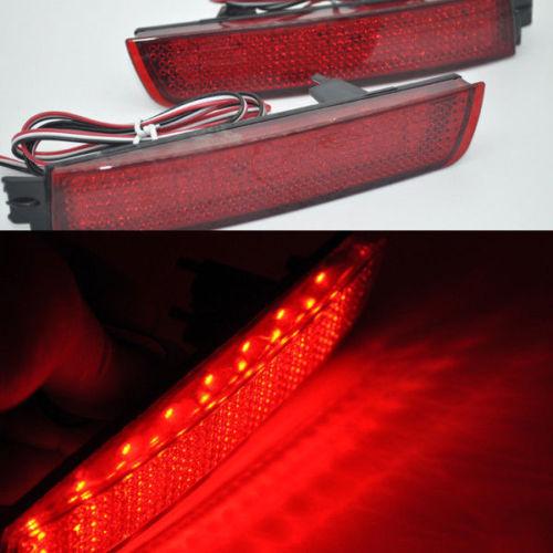 For Infiniti FX35 F37 Fx37 Red Len Rear Bumper Reflector LED Brake Tail Light(China (Mainland))