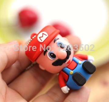 pen drive 32GB usb flash drive 64GB 4GB 8GB 16GB genuine special Super Mario pendrive u disk memory disk flash card usb 2.0(China (Mainland))