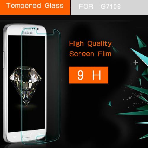 закаленное стекло экрана взрыв доказательства премиум протектор для samsung Галактика Гранд 2 дуэтов g7102 g7106 g7108 защитная пленка гвардии