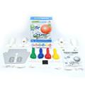 Cosmic balloon jet airplane scrawl DIY kit montessori toy plane model Manual assembly fighter Educational toys