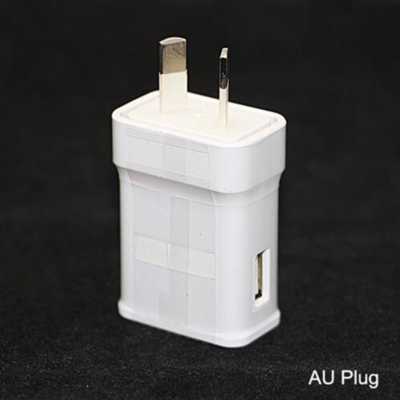 100% genuine Original AU PLUG wall home charger for Samsung Galaxy S6 edge Note N7100 2A galaxy s4 i9600 Charger(China (Mainland))
