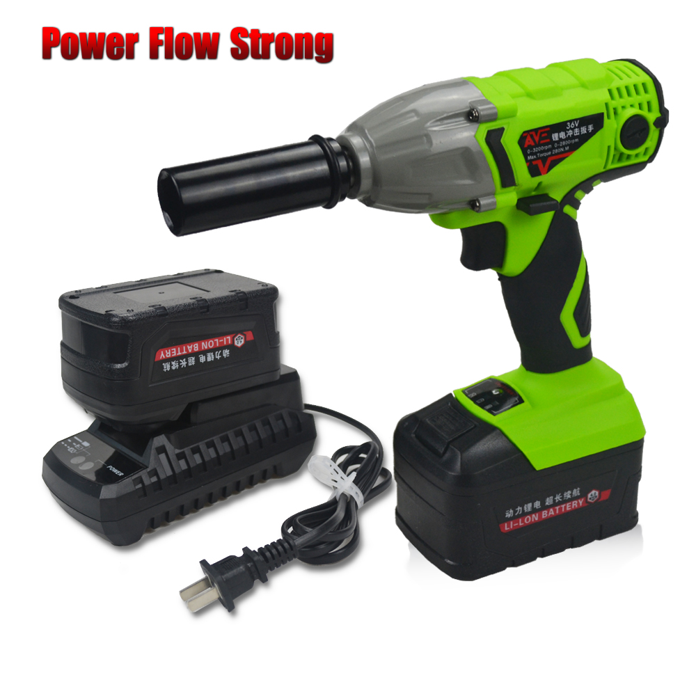 Wrench impact wrench speed adjustable Rechargeable Battery-in Electric