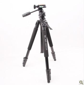 Weifeng WF-6663A DV SLR tripod Photographic equipment weifeng tripod weifeng 6663A traveler tripod 650D 7D D3200 D7100 D750 5D 3(China (Mainland))