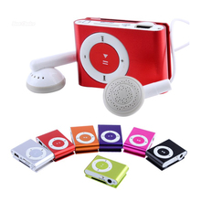 High Quality Metal mp3 Player MINI Clip MP3 Player With Micro TF/SD Card Slot mini MP3 Music Player + USB Cable free delivery(China (Mainland))