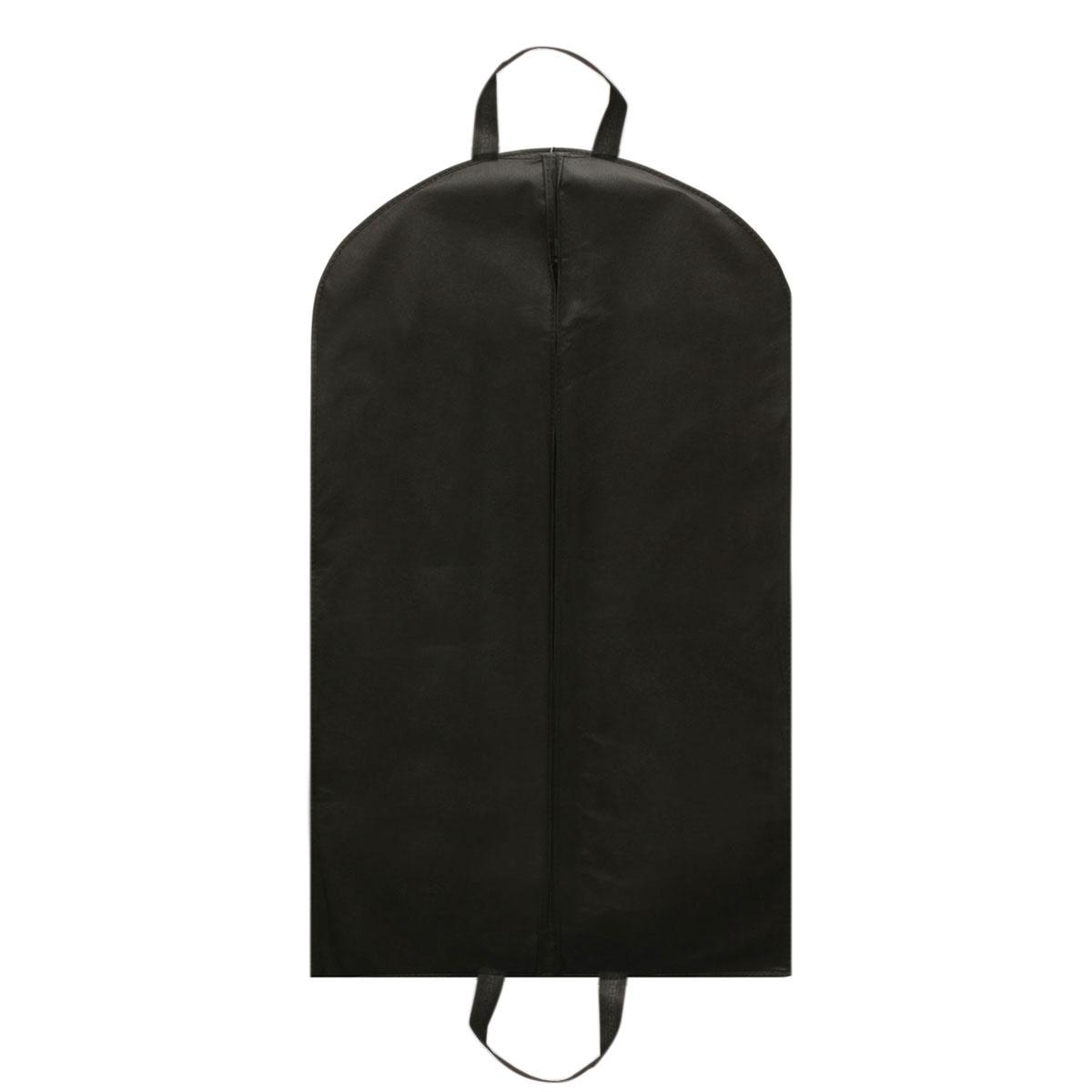 Black Suit Zip Bag Hanger Storage Home Dress Coat Garment Storage Travel Carrier Bag Cover Hanging Dustproof Protector(China (Mainland))