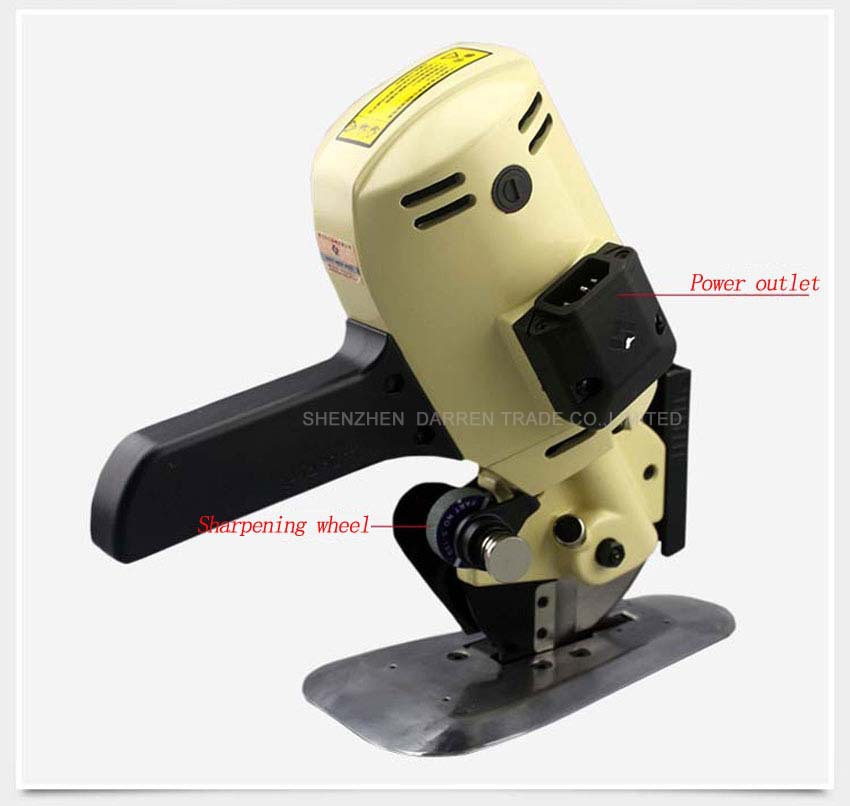 Buy 1pc Lejiang YJ-100A type Blade Diameter 100MM ,Electric Cloth Cutter Fabric Round Knife Cutting Machine cheap