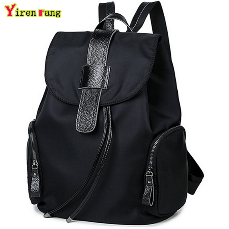 Women backpack 2016 famous brand student leather canvas school bags for teenagers fashion waterproof designer backpack women(China (Mainland))