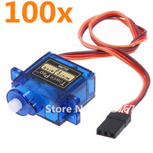 Buy 100PCS /lot Tower Pro SG90 Servo 9g Micro Mini Torque 1.8kg JR Plug Gear RC Planes Robot Helicopter Parts RC Plane Toy motors for $169.00 in AliExpress store