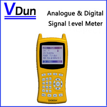 Free shipping !!  Low cost  Digital Signal Level Meter SX-900A  for analogue and digital CATV system  Support DVB-C/ITU J.83 A/C(China (Mainland))