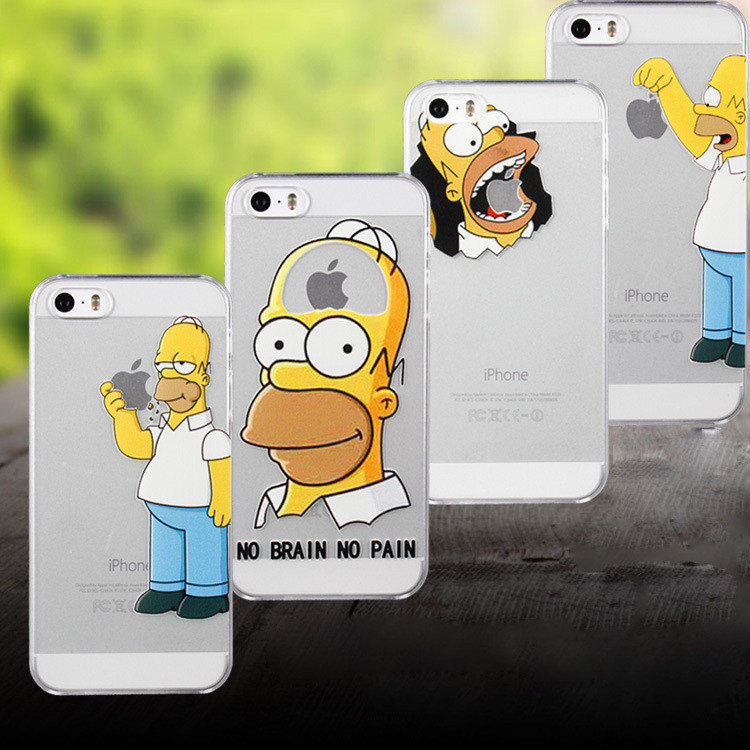 Case Simpsons Iphone 4 Iphone 4 4s Homer Simpson