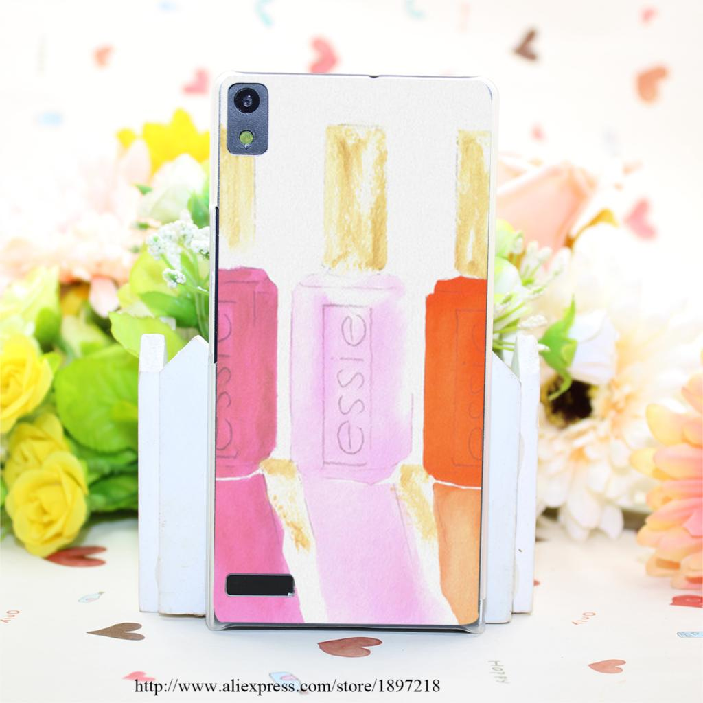 1048PQ Essie In Pink Hard Transparent Painted Cover for Huawei Ascend P6 P7 P8 P8 Lite Case Protective(China (Mainland))