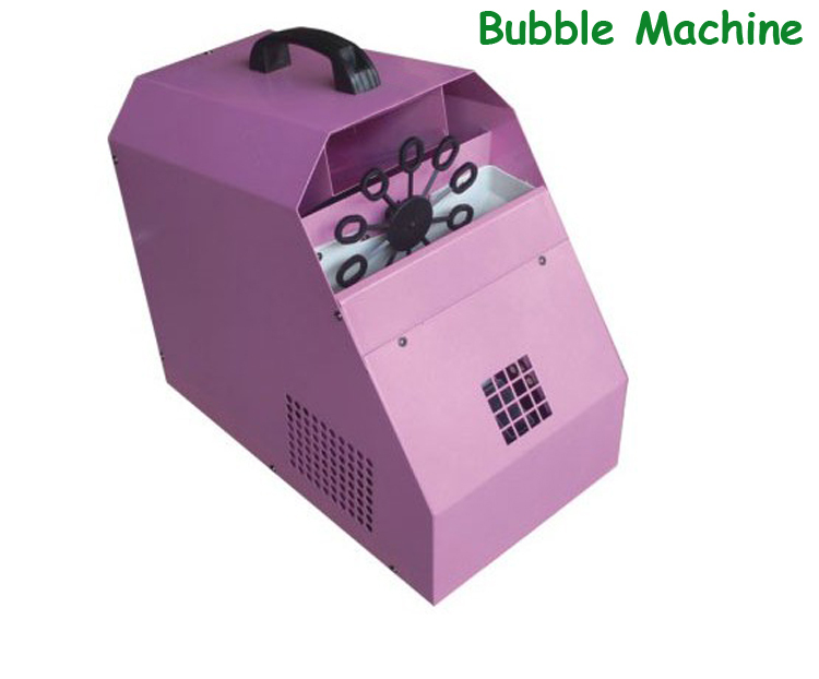 Wedding Bubble Machine/ Pink Stage Machine - Shenzhen Qiming Lighting Co., Limited store