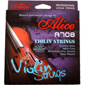 Free shipping High quality imported Alice violin strings A708 Colored Electric violin strings set nylon core