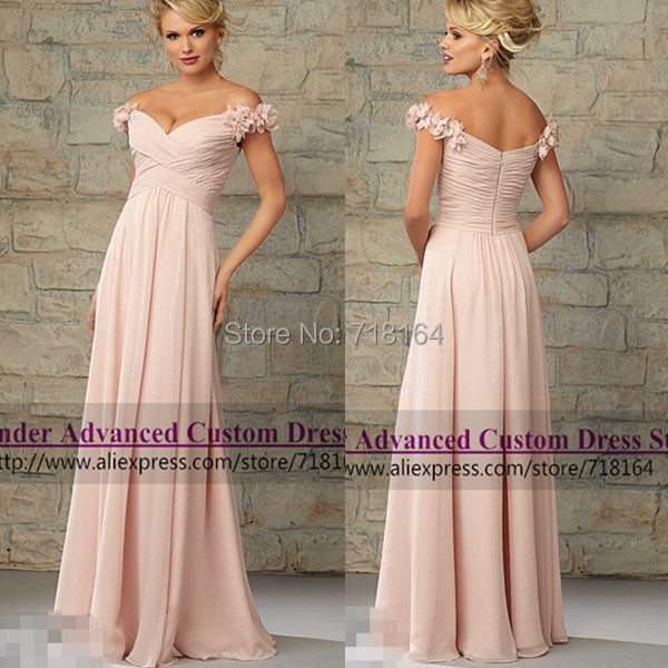 Latest design chiffon long coral colored bridesmaid dresses vestido de festa longo formal dress party madrinha casamento - Lavender Advanced Custom Dress Store store