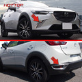 Front Rear Fog Light Cover For Mazda CX 3 2016 2017 Rear Bumper Reflector Accessories