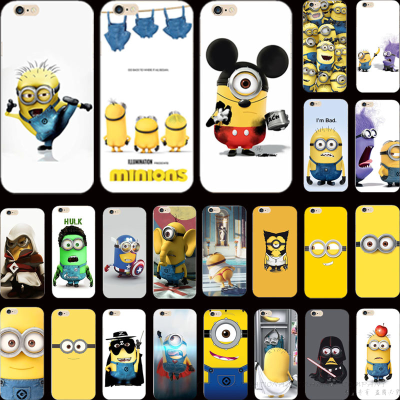 Popular Magic Pefect Silicon Cover Painting Despicable Me Yellow Minion Case For Apple iPhone 5C iPhone5C Phone Cases Shell KD N(China (Mainland))
