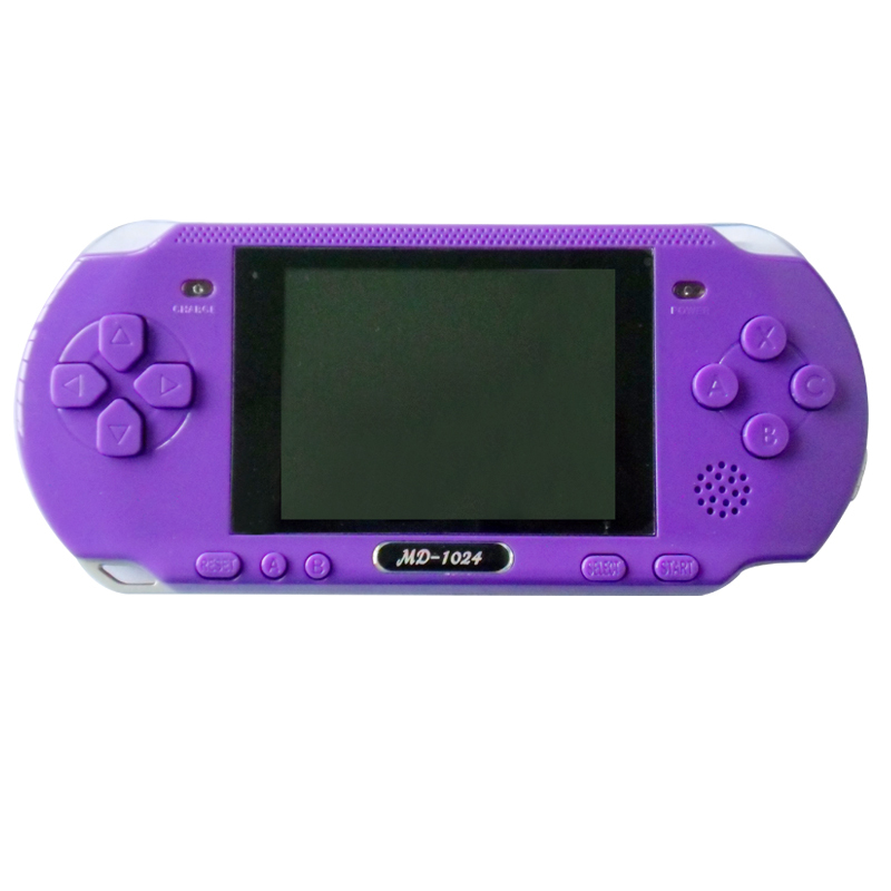 2014 new hot Free shipping Child handheld game consoles 16 bombards md 3.0 large screen game machine color game machine<br><br>Aliexpress