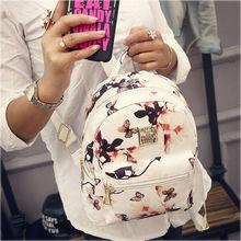 2016 New Girl School Bag Travel Cute Backpack Satchel Women Shoulder Rucksack(China (Mainland))