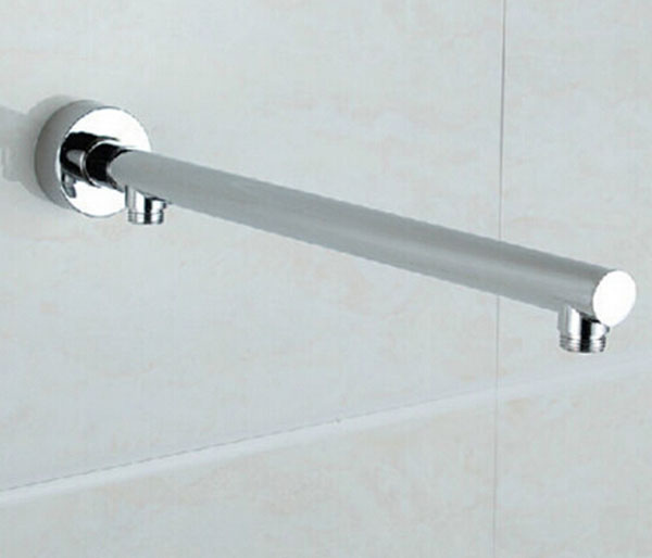 "Whole And Retail Widespread Chrome Finish 10"" Shower Arm Chrome Brass Wall Mounted(China (Mainland))"