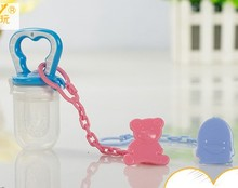 2 pic 2016 new Pacifier anti-out chain Baby Clothing Products for Babies pacifier clip feeding-bottle children's feeding nibbler