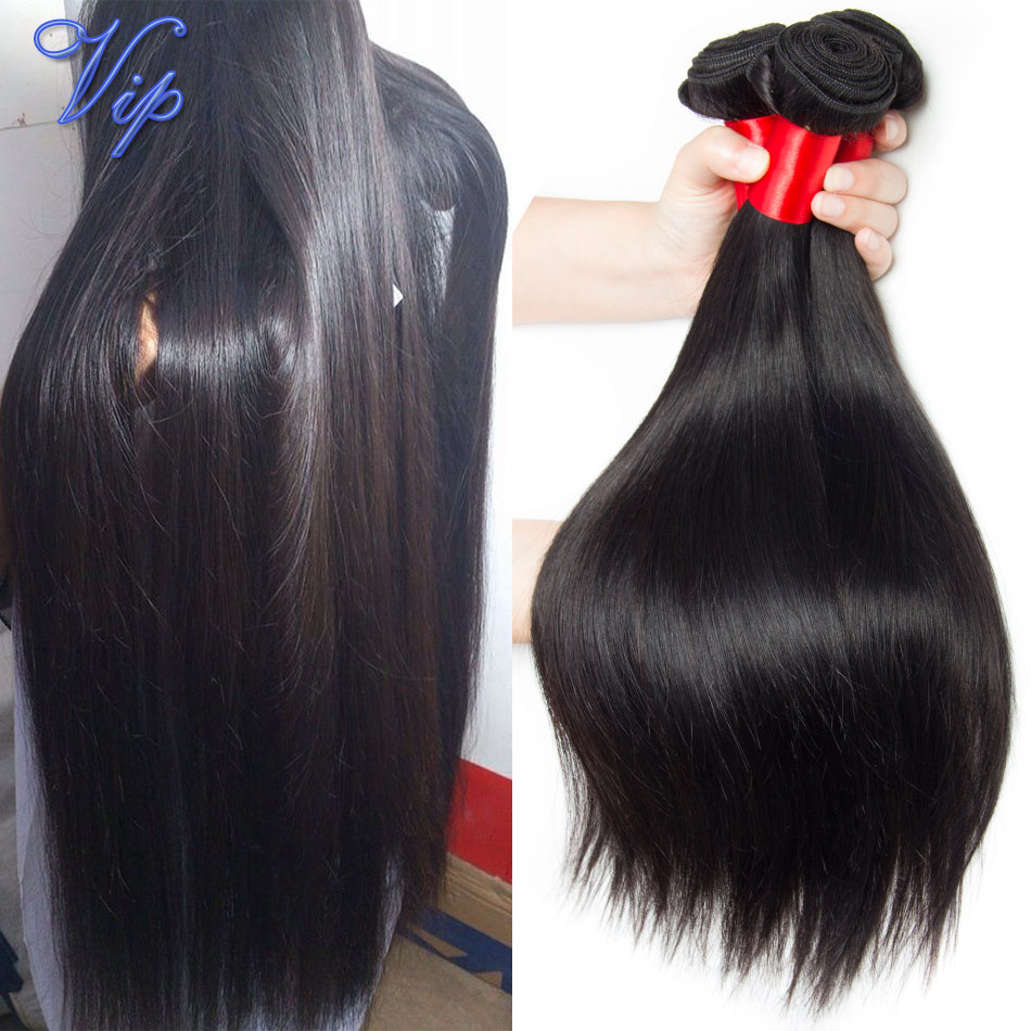 Unprocessed Virgin raw Indian straight hair Mink Indian straight virgin hair 4 bundles deals VIP beauty Indian remy human hair(China (Mainland))