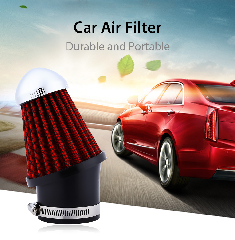 Universal SUV Truck Car Air Intake Filter Ornament Grille Design Mushroom Head Style Automobile Air Filter 63MM Caliber(China (Mainland))
