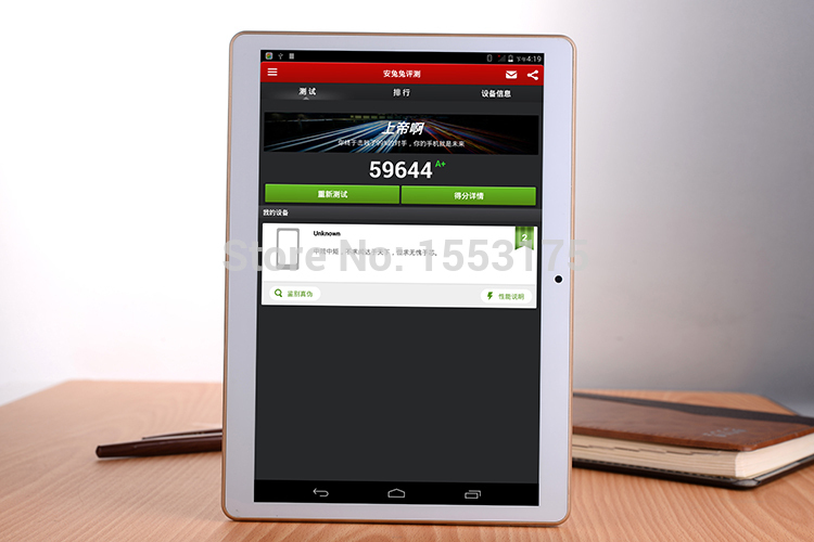 10 inch Tablets PCS 8 core Octa Cores 2560X1600 DDR3Tablet PC 4GB ram 32GB 8 0MP
