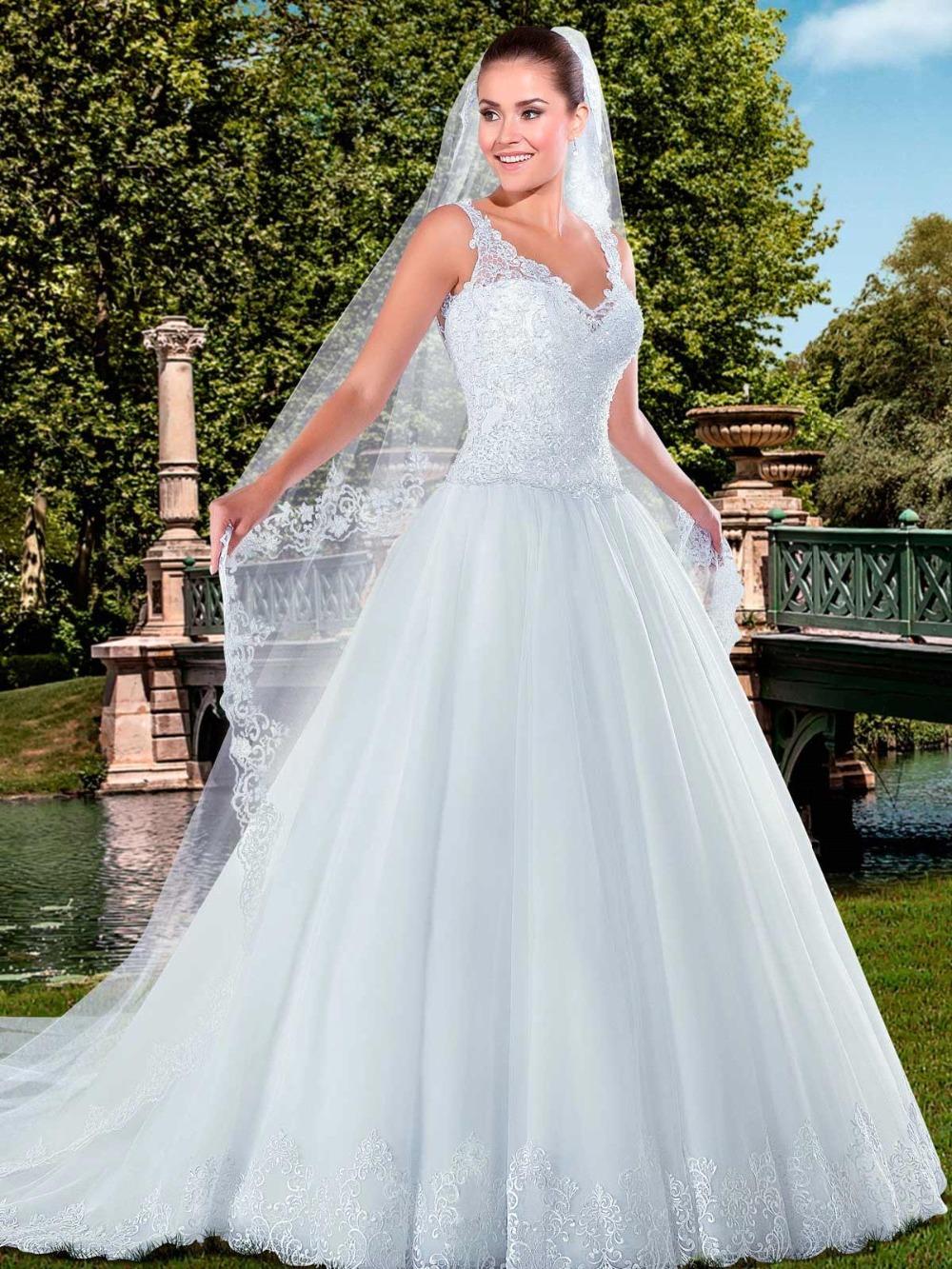 Buy new arrival vestidos de noivas white for No back wedding dress