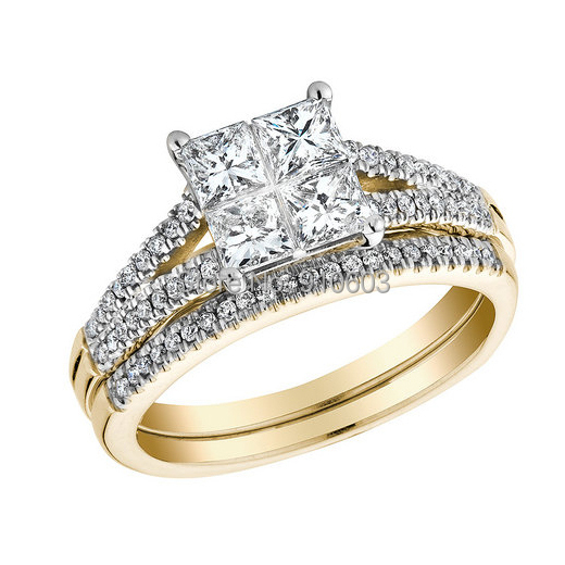 Yellow Gold Wedding Bands With Diamonds