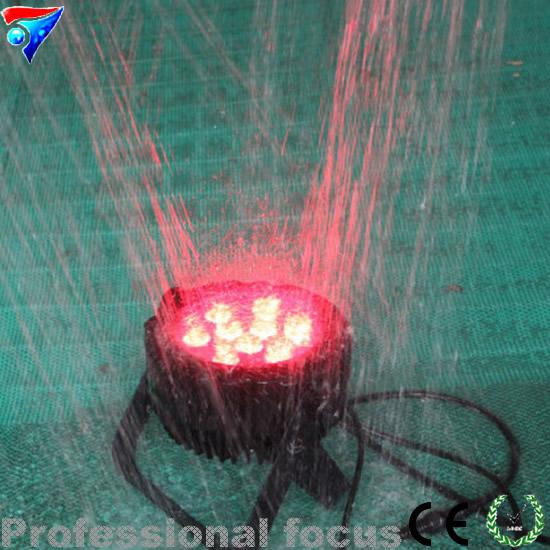 9pcs 15W RGBWA UV LED PAR Light IP65 DMX Waterproof PAR 64 DJ Stage Lighting 6in1 led outdoor par(China (Mainland))