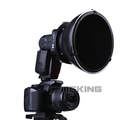 Flash Speedlite K9 K 9 Disc HoneyComb grid Softbox Diffuser Reflector for Speedlight Photo Studio Accessories